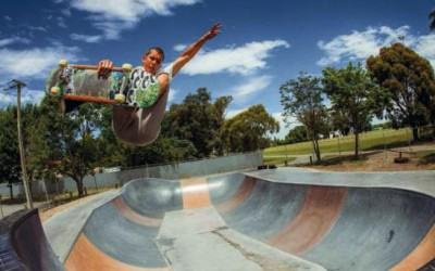 Leeston Skate Park features in issue #49 of Manual Magazine