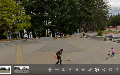 360 Degree view of Queenstown Skatepark