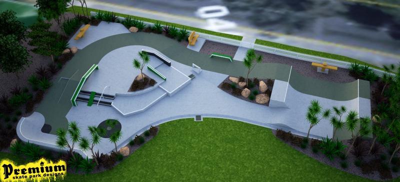 Collins Reserve, Skate Park Greenhithe, Concept Design