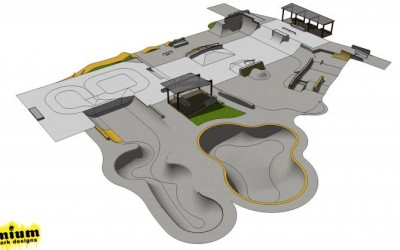 Wanaka Skate Park Extension